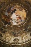 Basílica de San Vitale Interior Imágenes de archivo libres de regalías
