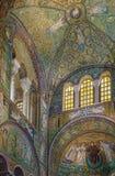 Basílica de San Vitale, Ravena, Italia Imagenes de archivo