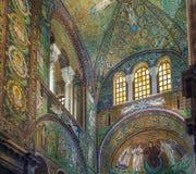 Basílica de San Vitale, Ravena, Italia Foto de archivo