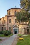 Basílica de San Vitale, Ravenna, Itália fotos de stock royalty free