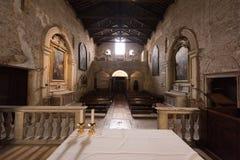 Basílica de San Zeno, Verona, Italia imagenes de archivo