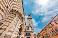 Basílica de San Zeno, Verona, Italia foto de archivo