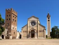 Basílica de San Zeno Verona - Italia fotos de archivo libres de regalías