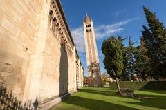 Basílica de San Zeno - Verona Italy Foto de archivo libre de regalías