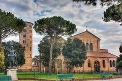 Basílica de Sant Apollinare en Classe Fotos de archivo libres de regalías