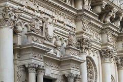Basílica de Santa Croce. Lecce. Puglia. Italia. Imágenes de archivo libres de regalías
