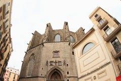 Basílica de Santa Maria del Mar Royalty Free Stock Photography