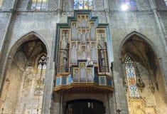 Basílica de Santa Maria del Pi Barcelona, España Foto de archivo libre de regalías