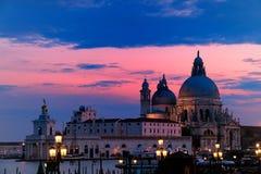 Basílica de Santa Maria Della fotografia de stock
