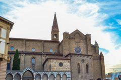 Basílica de Santa Maria Novella Basilica di Santa Maria Novella fotos de archivo libres de regalías