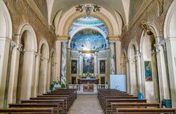 Basílica de Santa Prudenziana en Roma, Italia fotos de archivo