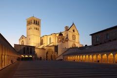 Basílica de St. Francis de Assisi imagens de stock