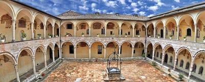 Basílica de St Francis de Assisi Imagen de archivo libre de regalías