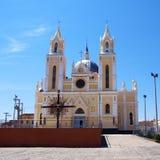 Basílica de St. Francisco en Canindé, el Brasil Imagen de archivo libre de regalías