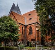 Basílica de St James Apostle em Olsztyn, Polônia imagem de stock