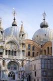 A basílica de St Mark em Veneza, Itália Fotos de Stock