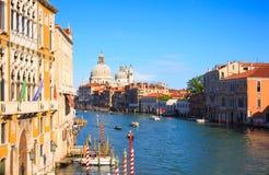 Basílica de St Mary de la salud, Venecia Imagen de archivo libre de regalías