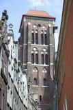 Basílica de St Mary em Gdansk Imagens de Stock Royalty Free