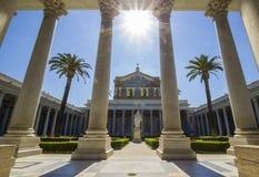 Basílica de St. Paul Outside las paredes Fotografía de archivo libre de regalías