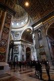 A basílica de St Peter foto de stock royalty free
