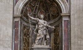 Basílica de St Peter, Cidade do Vaticano, Vaticano Fotografia de Stock