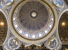 Basílica de St Peter, Cidade do Vaticano, Vaticano Foto de Stock Royalty Free