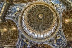 A basílica de St Peter (para dentro) Foto de Stock Royalty Free