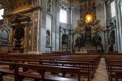 Basílica de St Peter s Foto de Stock Royalty Free