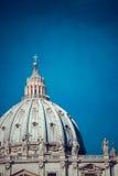 A basílica de St Peter, Vaticano Fotos de Stock