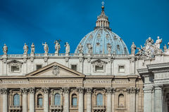 Basílica de St Peter, Vaticano Imagens de Stock Royalty Free