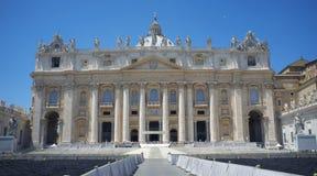 Basílica de St Peters Imagen de archivo libre de regalías