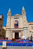 Basílica de St Rita de Cascia imagens de stock