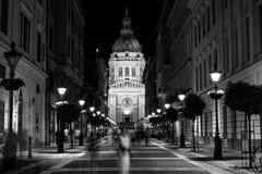 Basílica de St Stephen en Budapest, Hungría Imagen de archivo libre de regalías
