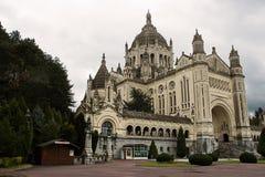 A basílica de St Therese de Lisieux fotos de stock