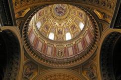 Basílica de Stephen del santo Fotos de archivo libres de regalías