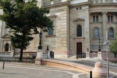 Basílica de Stephen del santo Imagen de archivo libre de regalías