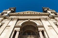 Basílica de Stephen del santo en Budapest Imagen de archivo libre de regalías