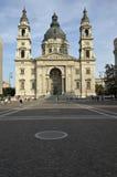 Basílica de Stephen del santo en Budapest. Hungría Imagen de archivo libre de regalías