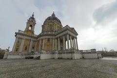 Basílica de Superga imagen de archivo