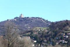 Basílica de Superga en la colina de Turín, Italia Imagen de archivo libre de regalías