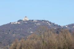 Basílica de Superga en la colina de Turín, Italia Imagenes de archivo