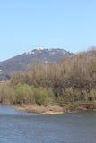 Basílica de Superga en la colina de Turín, Italia Fotos de archivo