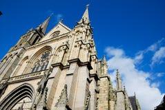 Basílica de Vannes en Francia Imágenes de archivo libres de regalías
