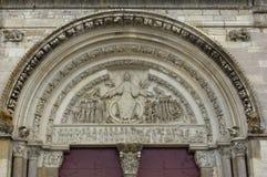 Basílica de Vezelay Imagen de archivo libre de regalías