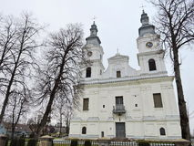 Basílica de Zemaiciu Kalvarija, Lituânia Imagem de Stock