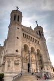 Basílica del ½ del ¿de Notre Dame de Fourviï con referencia a fotografía de archivo