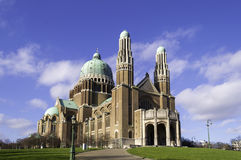 Basílica del corazón sagrado, Bruselas Imagenes de archivo
