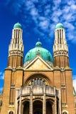 Basílica del corazón sagrado - Bruselas fotos de archivo
