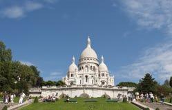 Basílica del corazón sagrado de Jesús de París fotografía de archivo