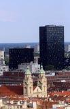 Basílica del corazón sagrado de Jesús en Zagreb Fotos de archivo libres de regalías